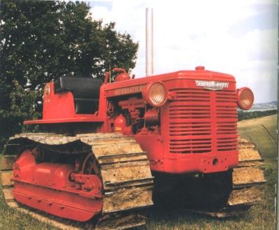 Les tracteurs à chenilles T6, TD6, T9, TD9, T14, TD14, TD18, TD24 et